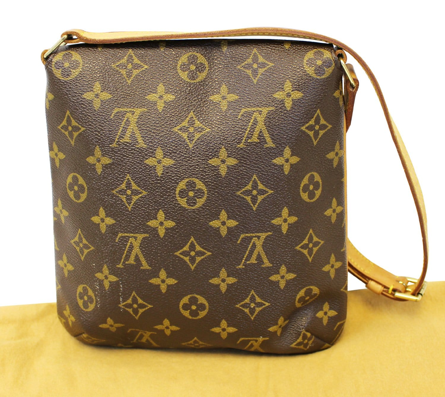 08a8166718715 LOUIS VUITTON Monogram Canvas Musette Salsa Short Strap Shoulder Bag ...