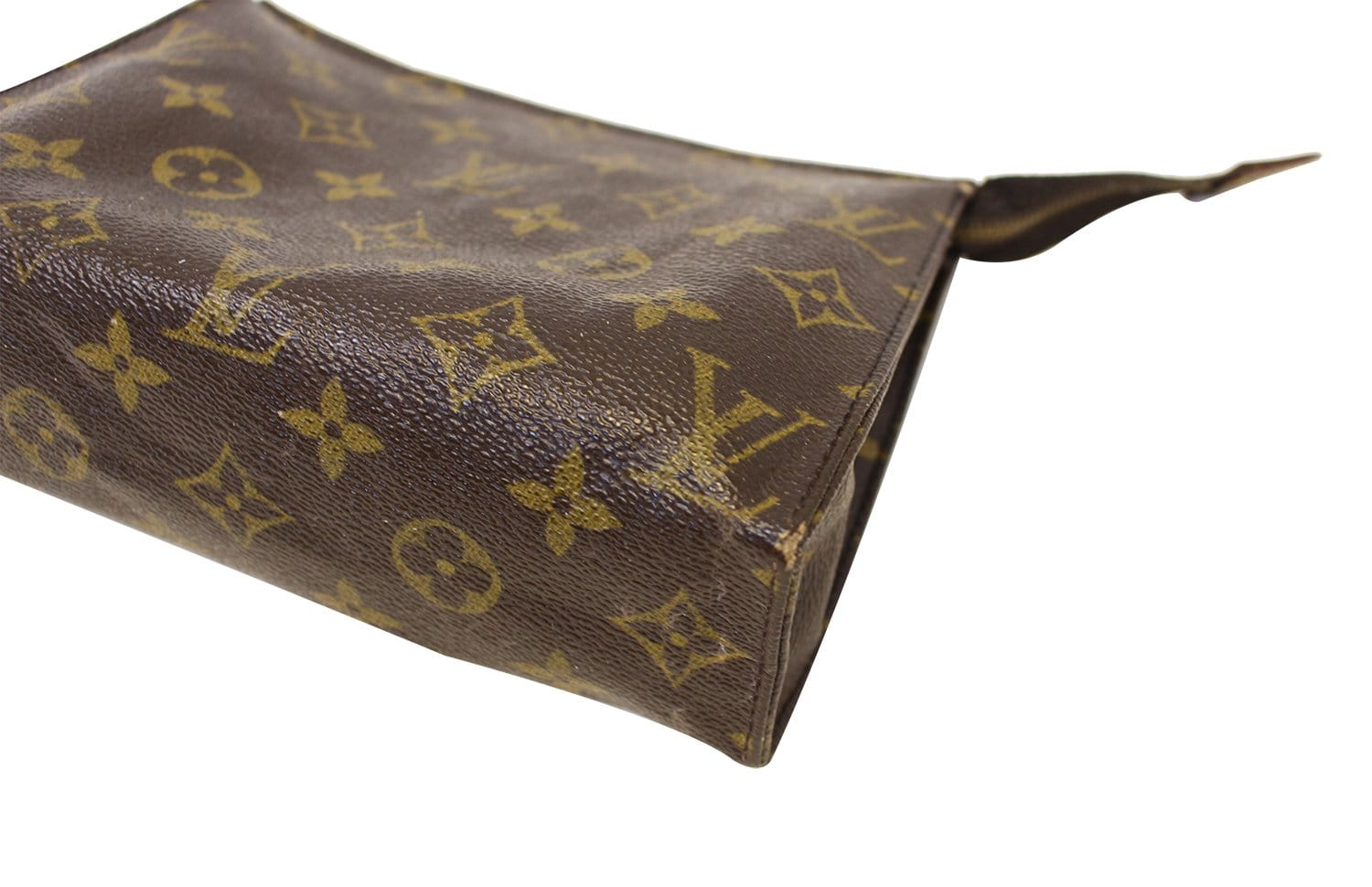 dc0f10608bb6 LOUIS VUITTON Monogram Canvas Toiletry Pouch 19 Cosmetics Pouch