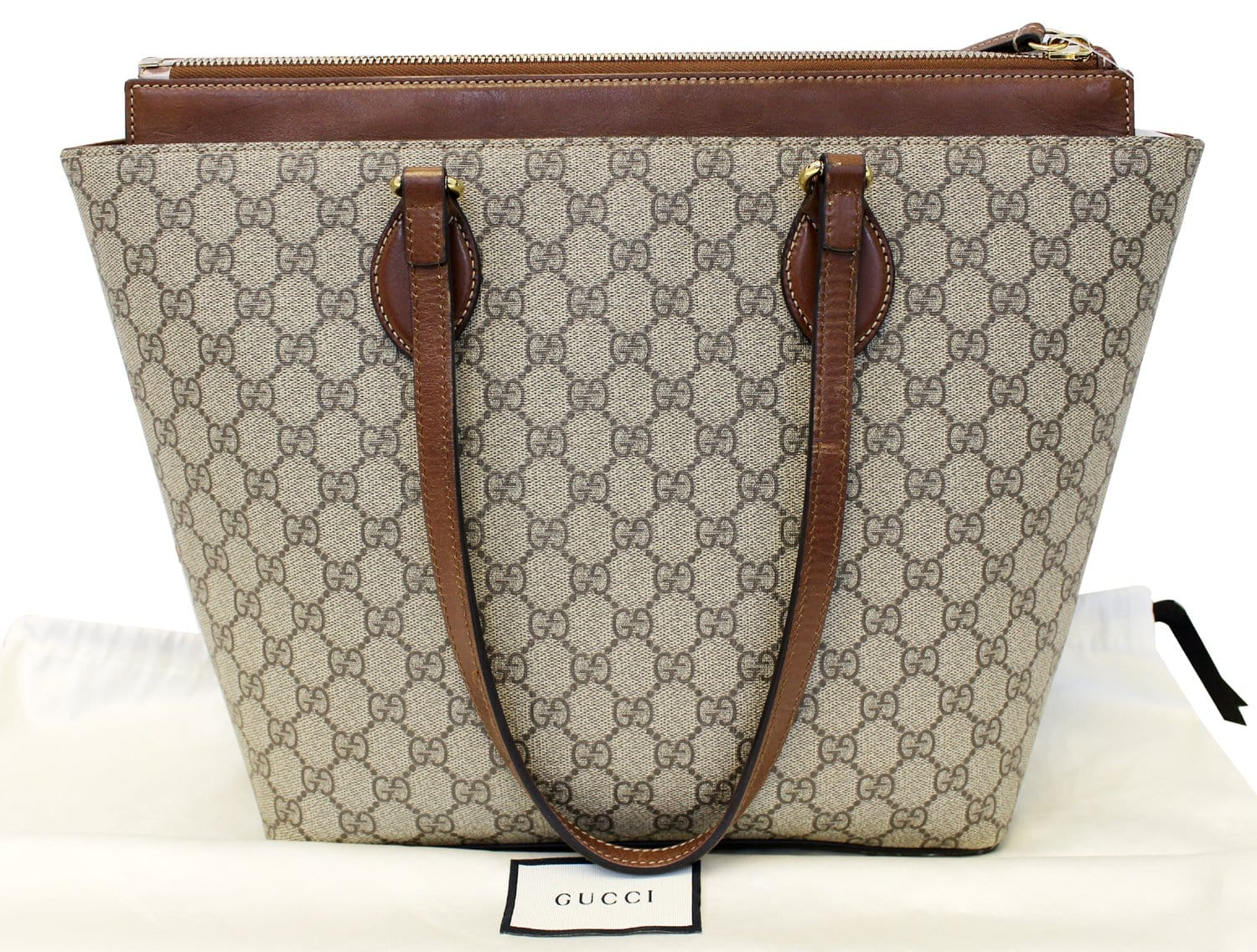 f47205627 GUCCI GG Supreme Medium Tote Shoulder Bag 415721