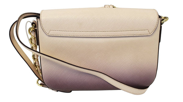 Salvatore Ferragamo Sandrine Crossbody Flap Bag back view