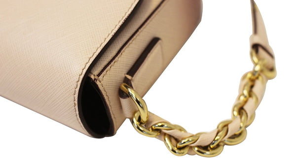 Salvatore Ferragamo Sandrine Crossbody Flap Bag side view