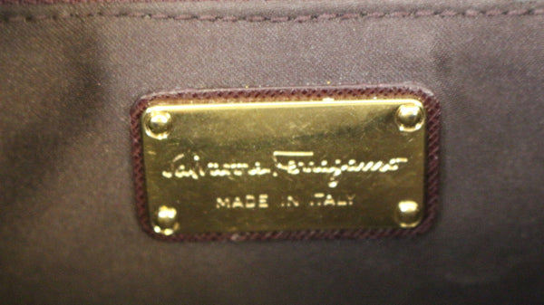 Salvatore Ferragamo Sandrine Crossbody Flap Bag logo