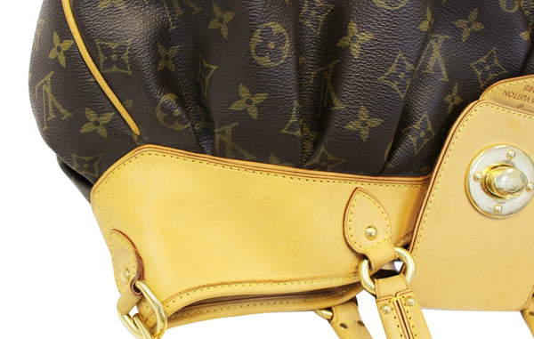 LOUIS VUITTON Monogram Boetie GM Shoulder Handbag