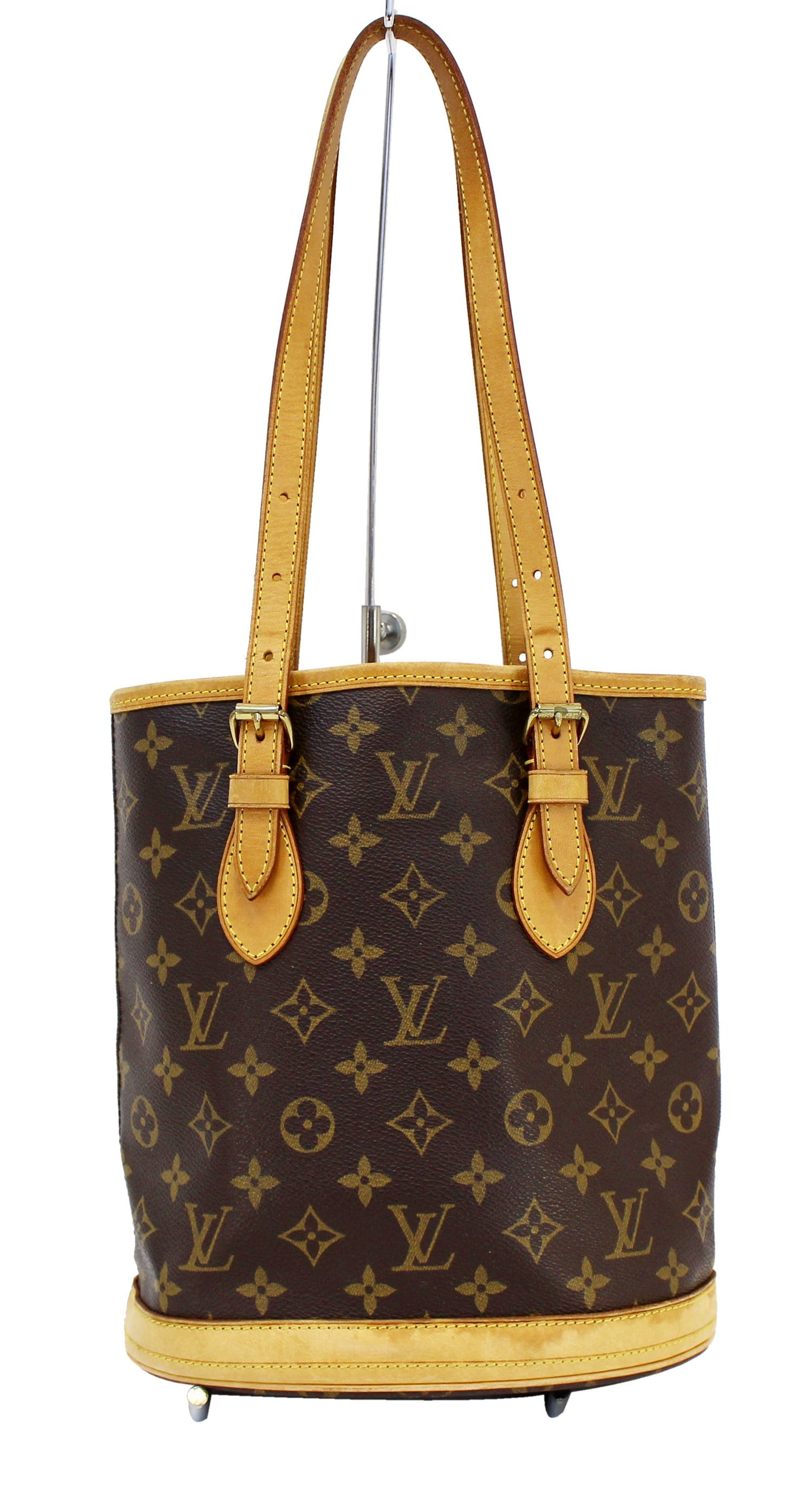 ac688d0974 LOUIS VUITTON Bucket PM Monogram Canvas Shoulder Bag - 30% Off