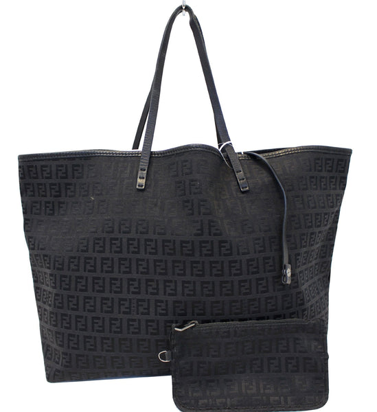 c2d2e90a4b7f Authentic fendi monogram zucca pattern tote bag with pouch JPG 549x600 Monogrammed  zucca