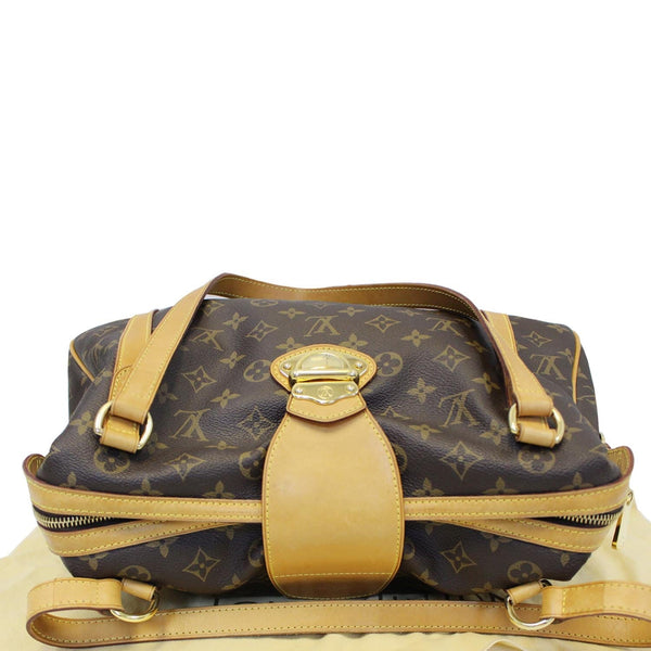 Louis Vuitton Stresa PM Monogram Canvas Shoulder Bag leather