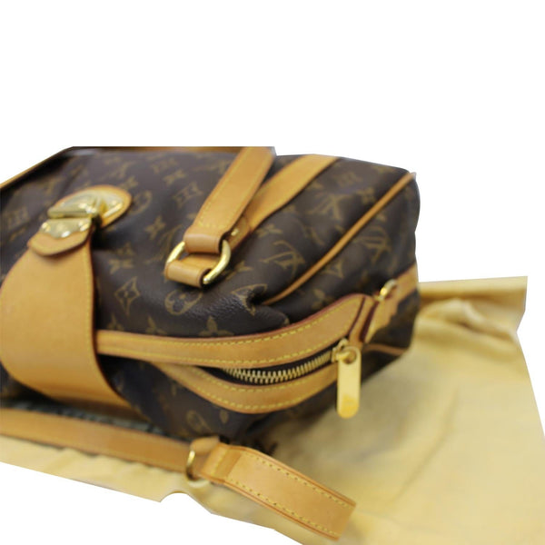 Louis Vuitton Stresa PM Monogram Canvas Shoulder Bag - long strap