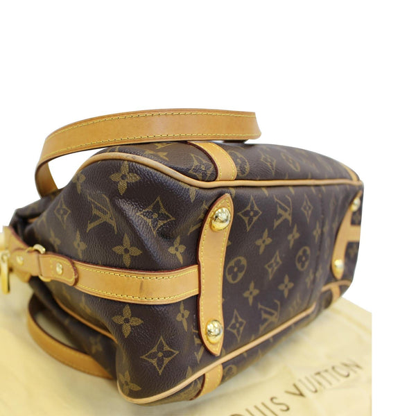 Louis Vuitton Stresa PM Monogram Canvas Shoulder Bag - authentic