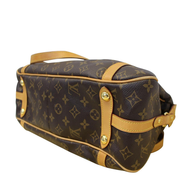 Louis Vuitton Stresa PM Monogram Canvas Shoulder Bag - corner