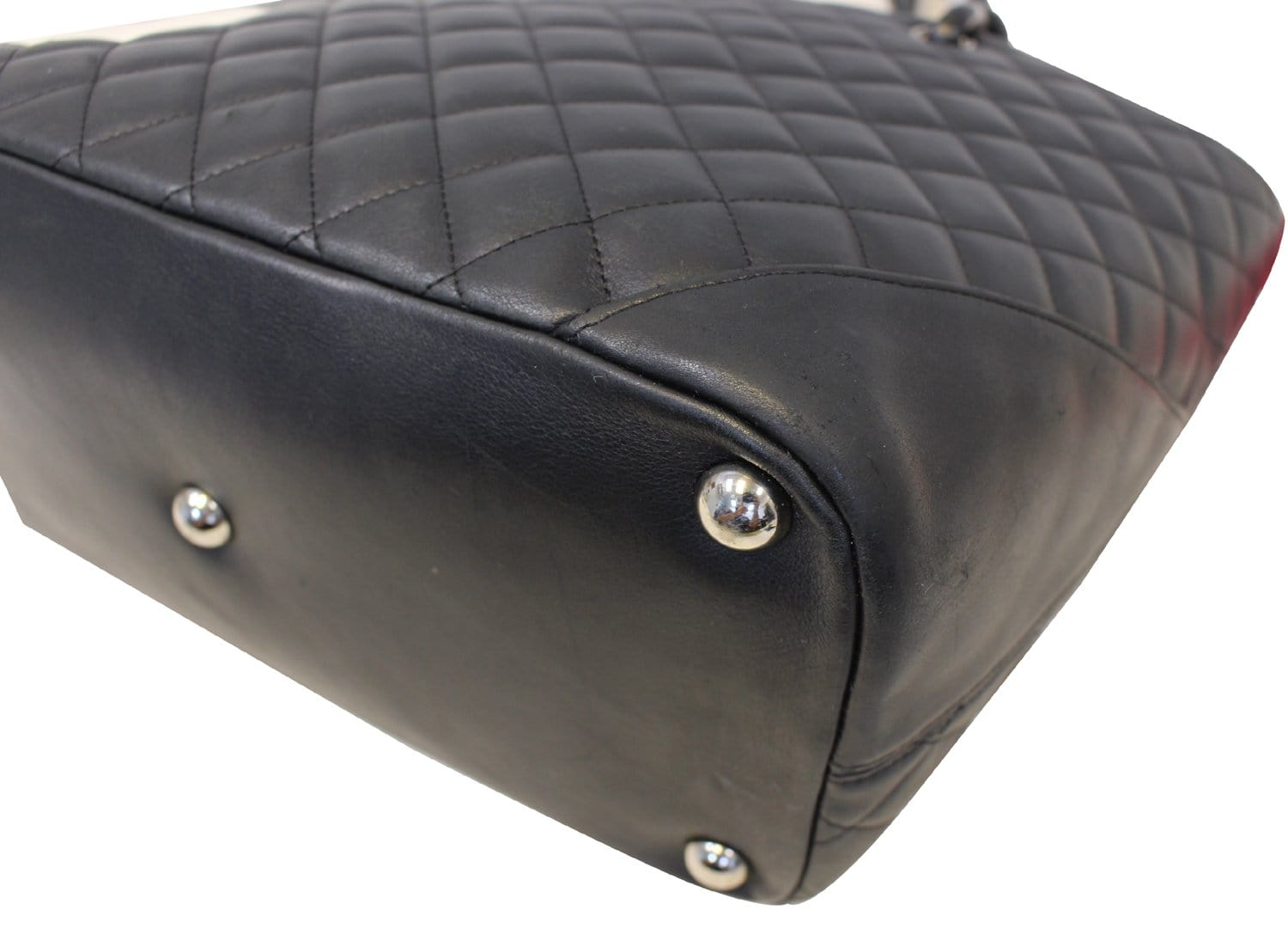c5adfc996444fb CHANEL Black Quilted Leather Large Cambon Tote Bag