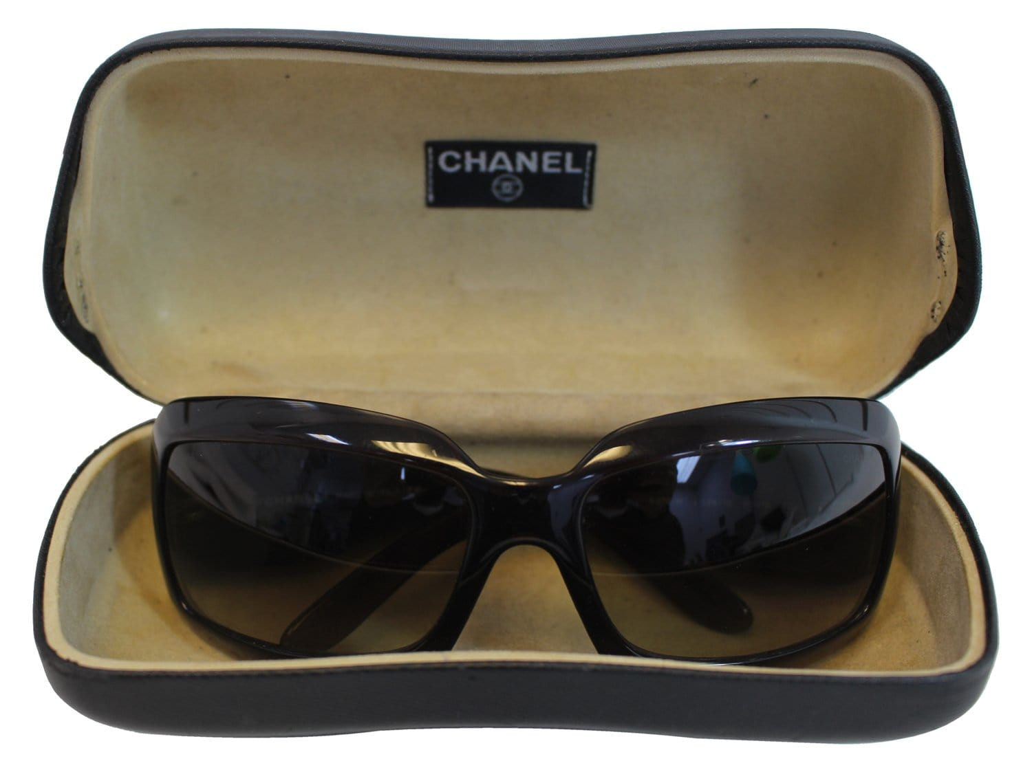 25c73714574 Authentic CHANEL 5076 CC Logo Mother Of Pearl Sunglasses TT1780 ...