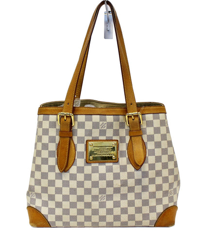 b74a1dc21c85 LOUIS VUITTON Damier Azur Hampstead MM Shoulder Bag