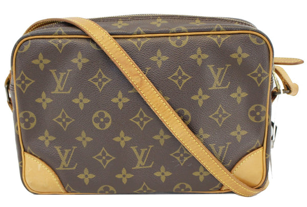 LOUIS VUITTON Monogram Canvas Trocadero 27 Crossbody Bag - 20% Off