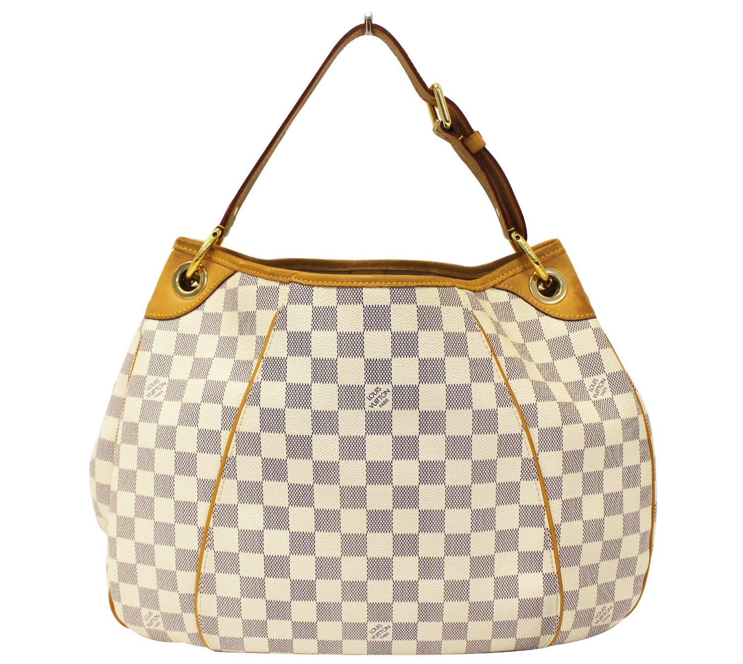 715b47613e6 Authentic LOUIS VUITTON Galliera PM Damier Azur Shoulder Bag TT1786