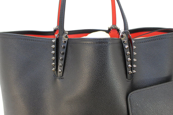 CHRISTIAN LOUBOUTIN Tote Bag - Cabata Studded Leather Bag - on sale