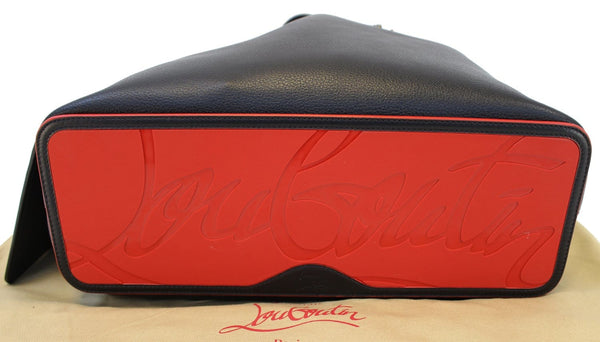 CHRISTIAN LOUBOUTIN Tote Bag - Cabata Studded Leather Bag - back view