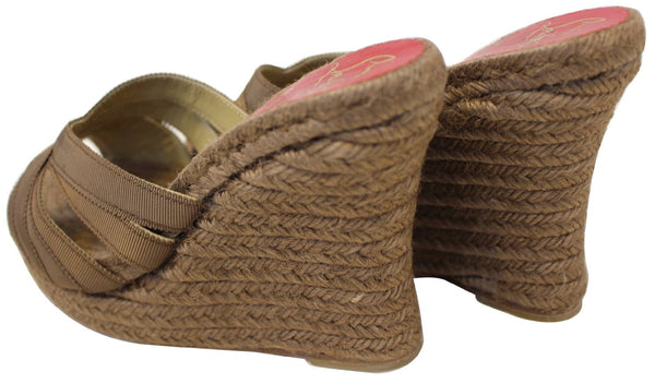 CHRISTIAN LOUBOUTIN Cataribbons Espadrille Wedges