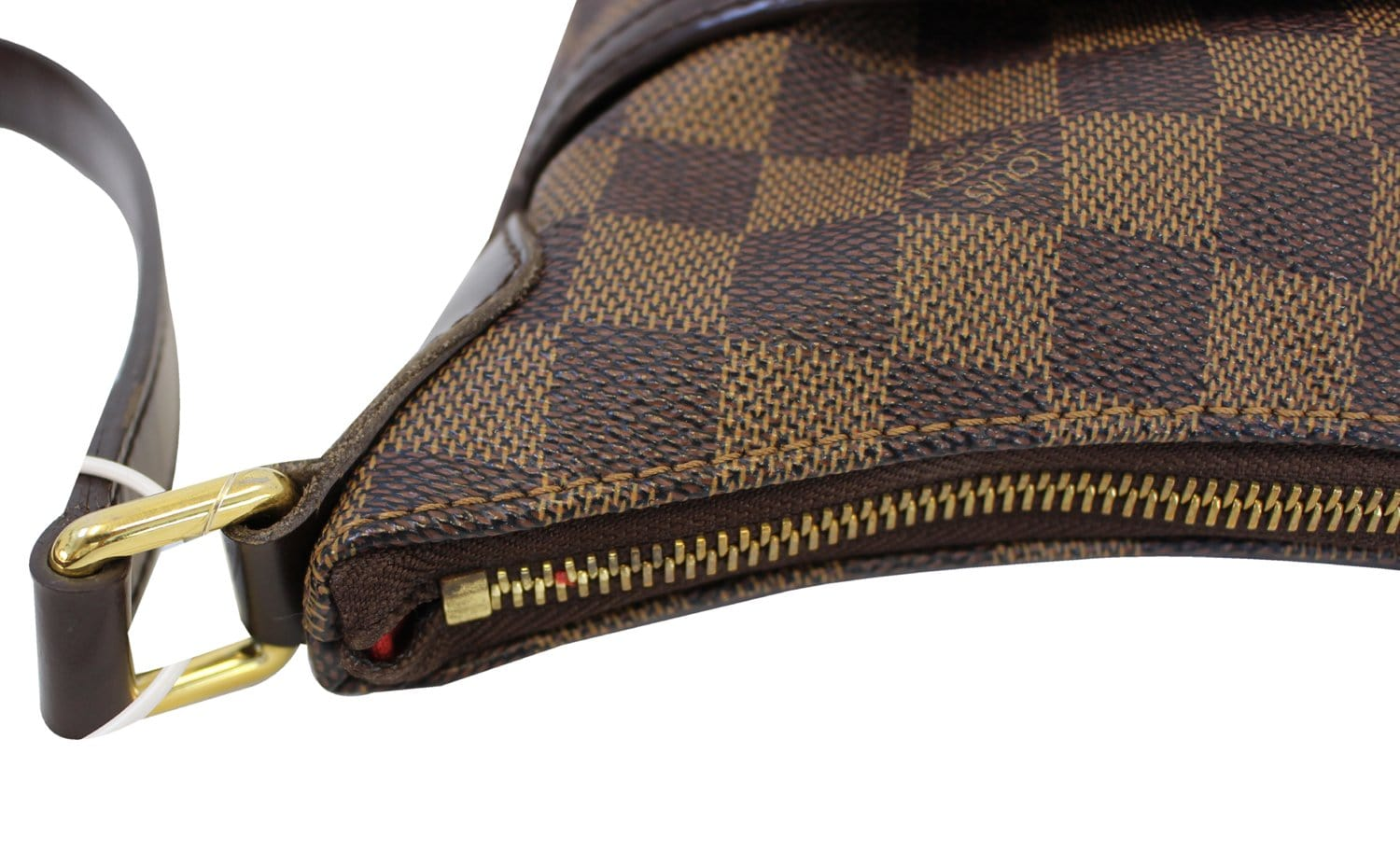9aaa2e6fadae Authentic LOUIS VUITTON Bloomsbury PM Damier Ebene Crossbody Bag TT1491