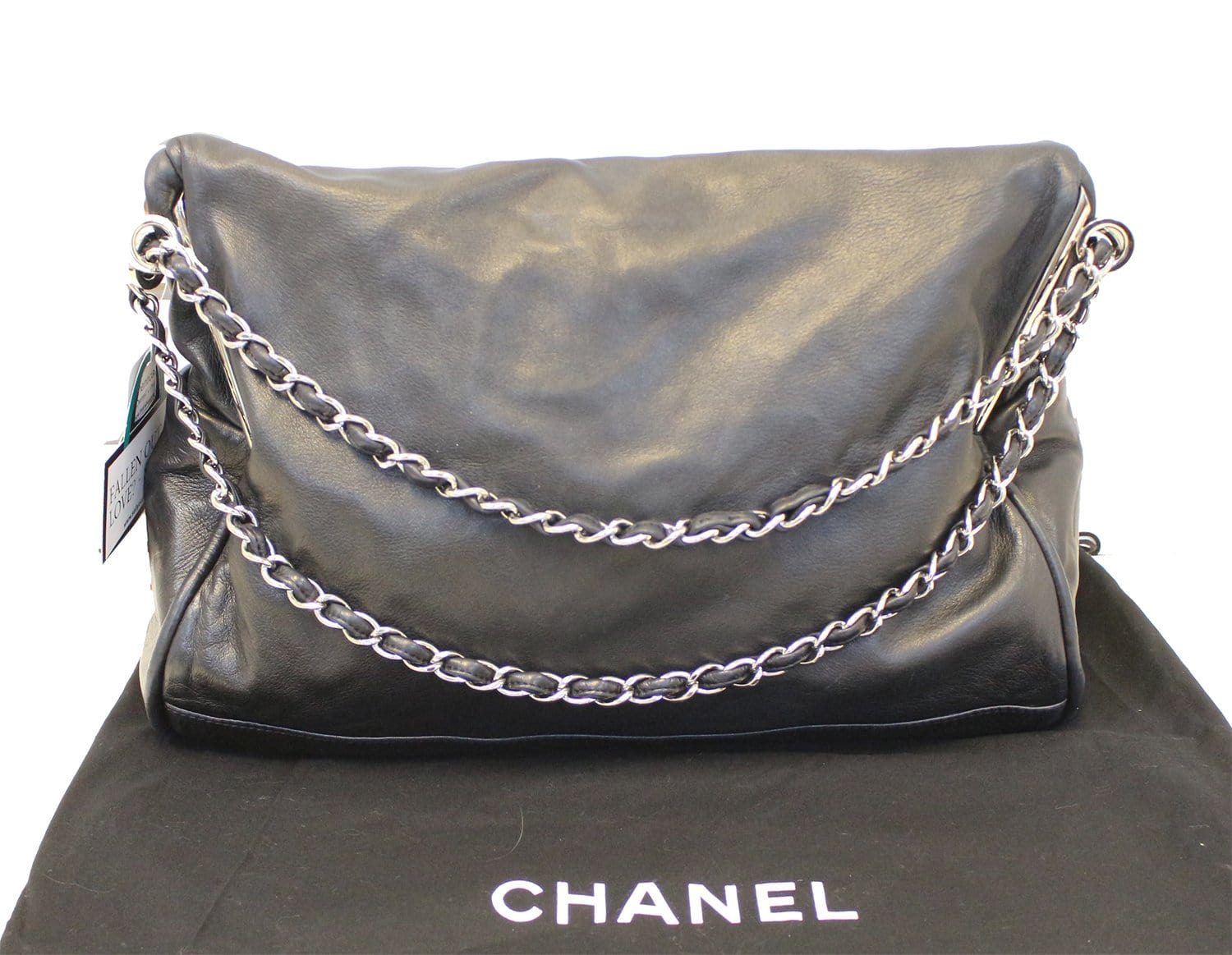 00dbfb7aebb5bf CHANEL Large Ultimate Soft Hobo Black Leather Bag