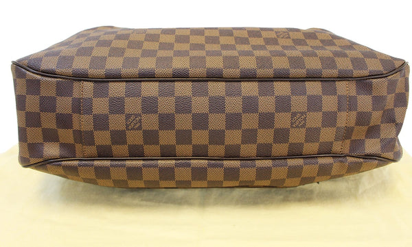 Authentic LOUIS VUITTON Damier Ebene Evora GM Tote Shoulder Bag E3311