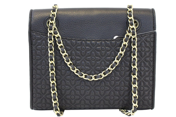 TORY BURCH Bryant Quilted Leather Black Crossbody Bag