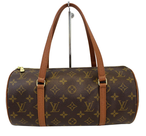 LOUIS VUITTON Monogram Brown Papillon Shoulder Bag
