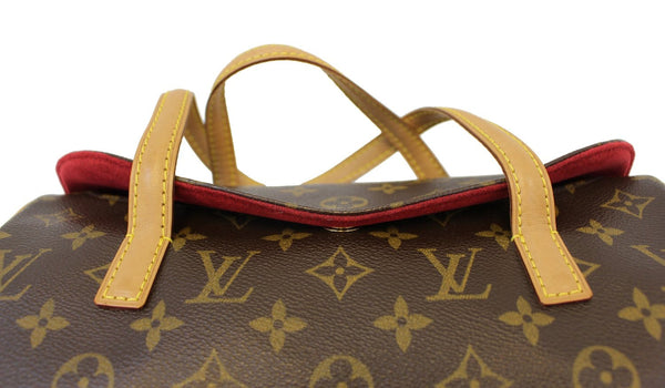 Authentic LOUIS VUITTON Monogram Sonatine Shoulder Bag E3370