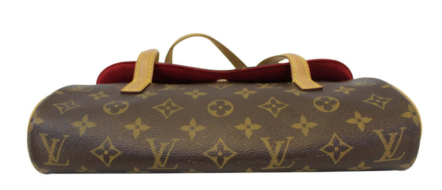 602f80a8afad Authentic LOUIS VUITTON Monogram Sonatine Shoulder Bag E3370