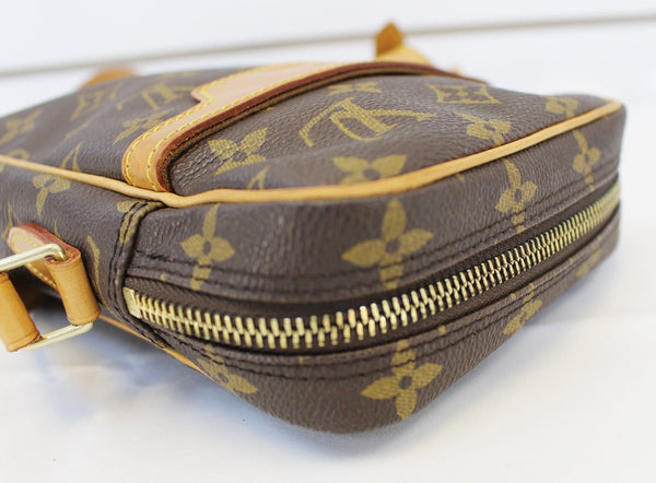 Authentic LOUIS VUITTON Monogram Canvas Danube Crossbody Bag TT1529 Limited Edition