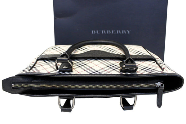 Burberry Shoulder Bag - BURBERRY Women Bag Check Plaid Jacquard sale