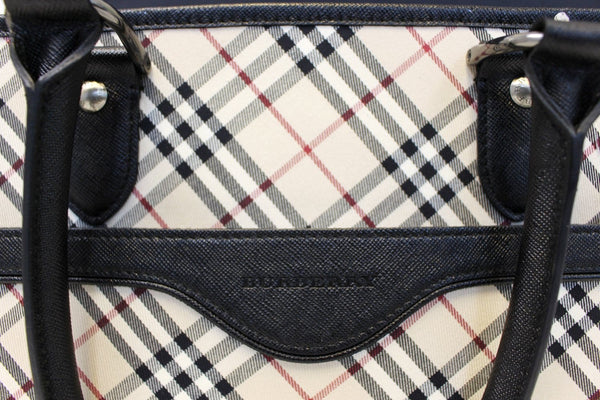 Burberry Shoulder Bag - BURBERRY Women Bag Check Plaid Jacquard  - strip