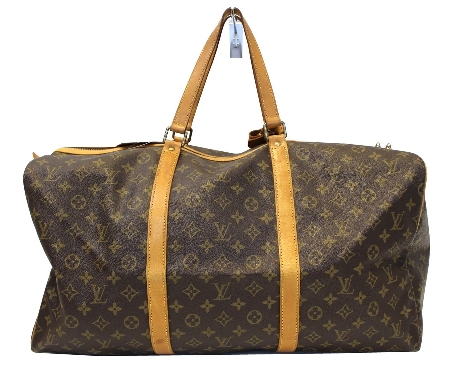 f62d3299f65 LOUIS VUITTON Monogram Sac Souple 55 Boston Bag