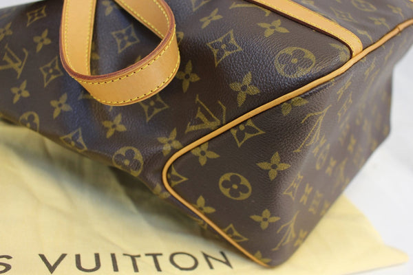 Authentic LOUIS VUITTON Monogram Canvas Sac Shopping Tote TT1512
