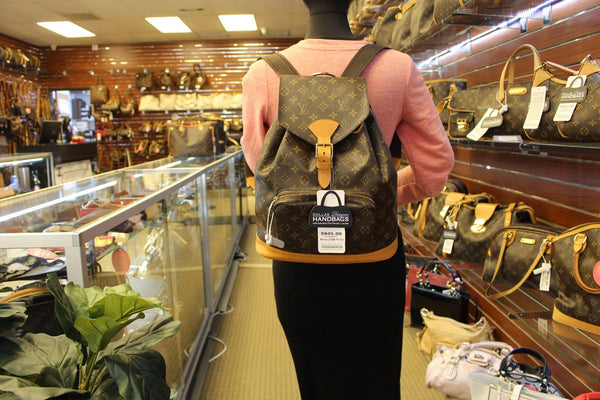 LOUIS VUITTON Backpack  Monogram Canvas Montsouris GM