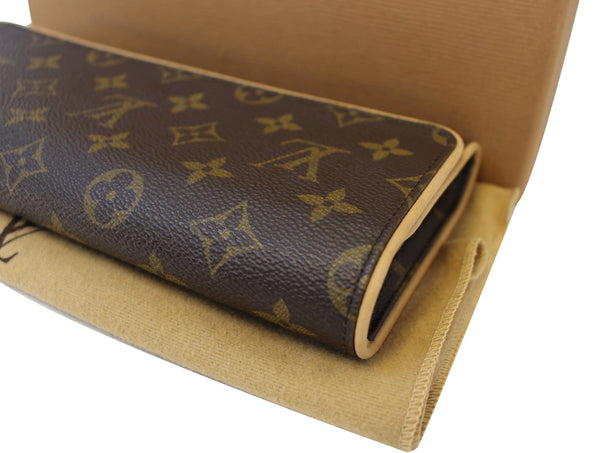 Authentic LOUIS VUITTON Monogram Canvas Twin GM Crossbody Bag TT1533