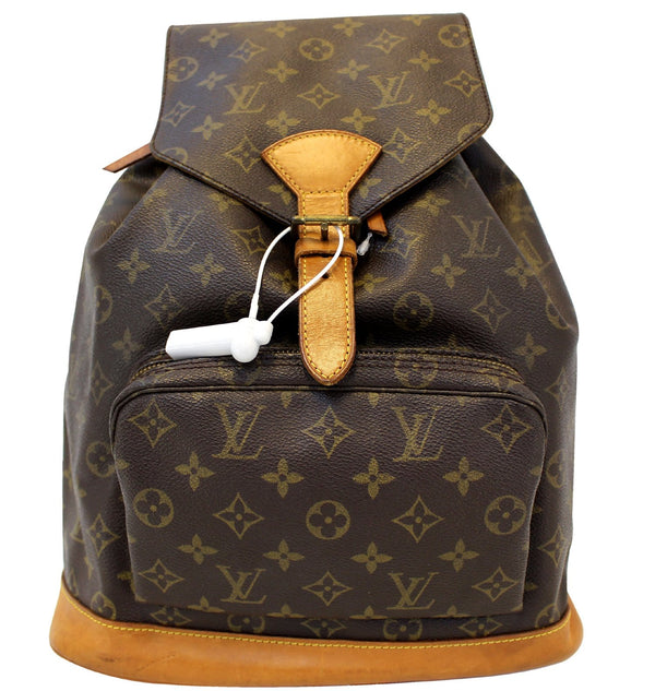 LOUIS VUITTON Backpack Bag Monogram Canvas Montsouris GM