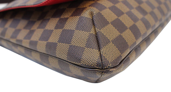 LOUIS VUITTON Damier Ebene Musette Salsa GM Crossbody Bag