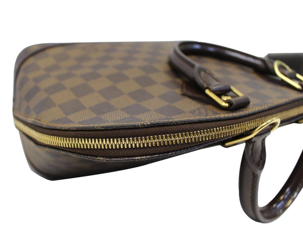 LOUIS VUITTON Damier Ebene Alma Brown Satchel