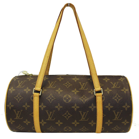 Louis Vuitton Monogram Canvas Papillon 30 Satchel Purse - 30% Off