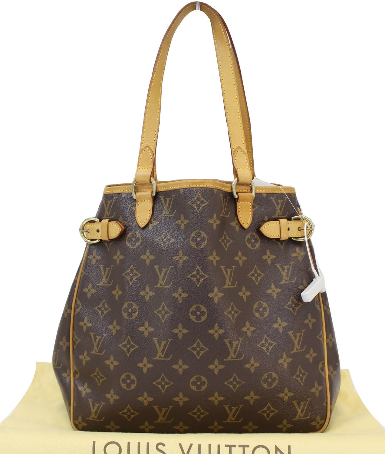 883e6e69444a Authentic LOUIS VUITTON Monogram Canvas Batignolles Vertical Bag TT154