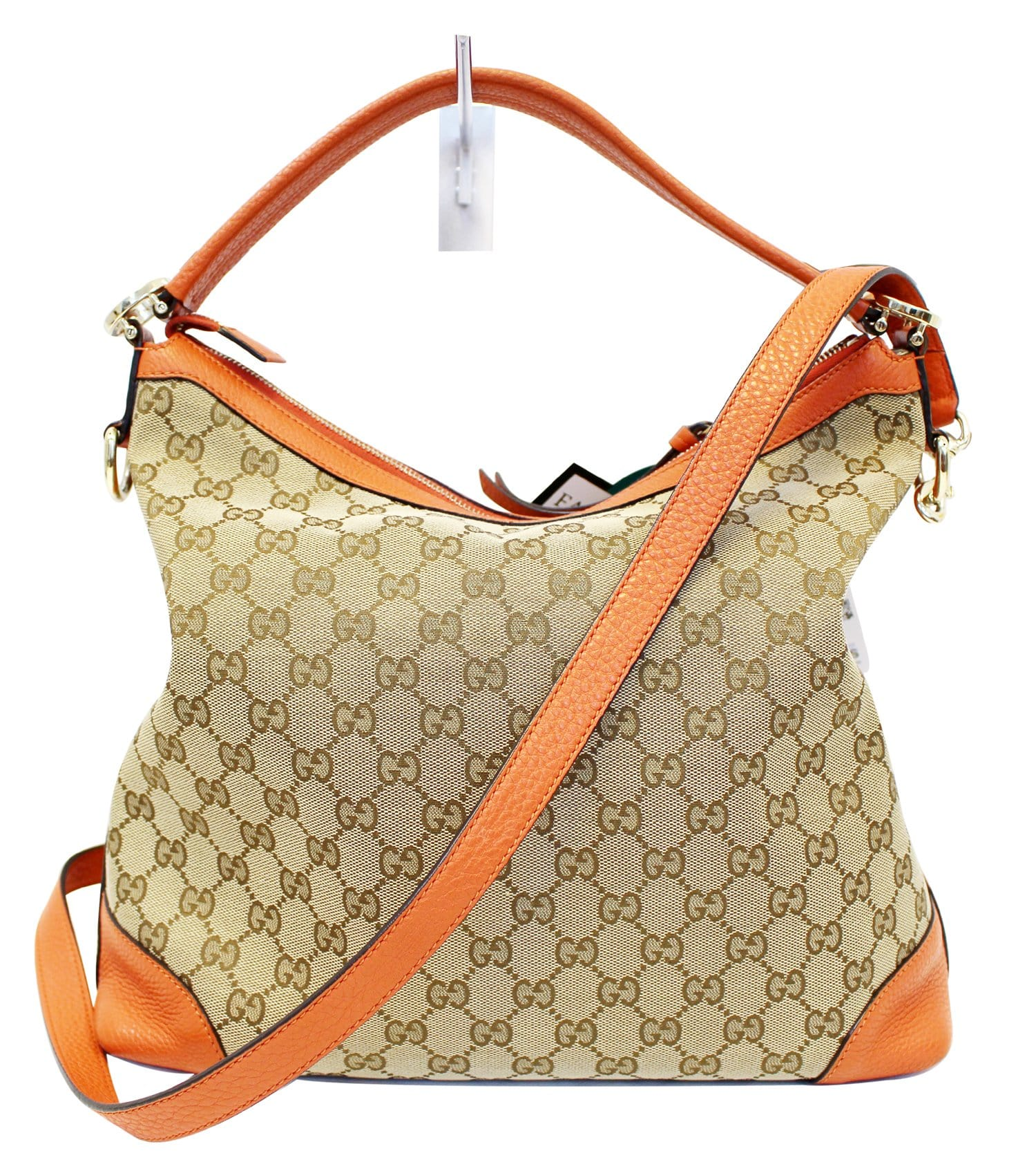 7110028ba7868 GUCCI Beige GG Canvas Miss GG Original Hobo Bag