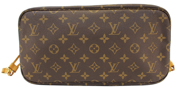 Authentic LOUIS VUITTON Monogram Neverfull MM Shoulder Bag E2323