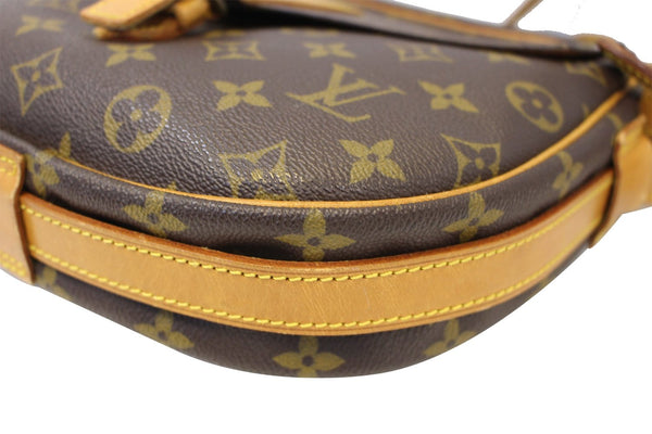 Authentic LOUIS VUITTON Monogram Jeune Fille Shoulder Bag E3700