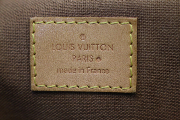 Authentic LOUIS VUITTON Monogram Palermo PM Tote Shoulder Bag E3335