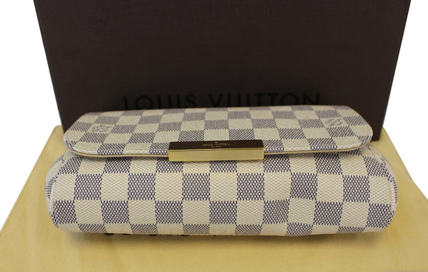 Authentic LOUIS VUITTON Favorite PM Damier Azur Bag TT1568