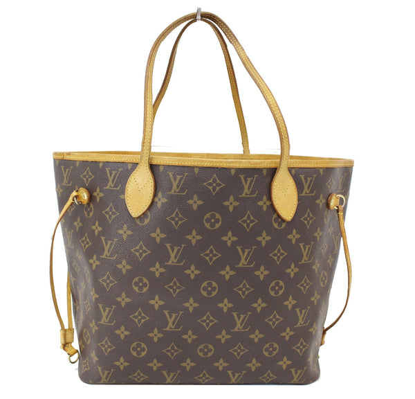 Authentic LOUIS VUITTON Monogram Canvas Neverfull MM Tote Bag TT1552