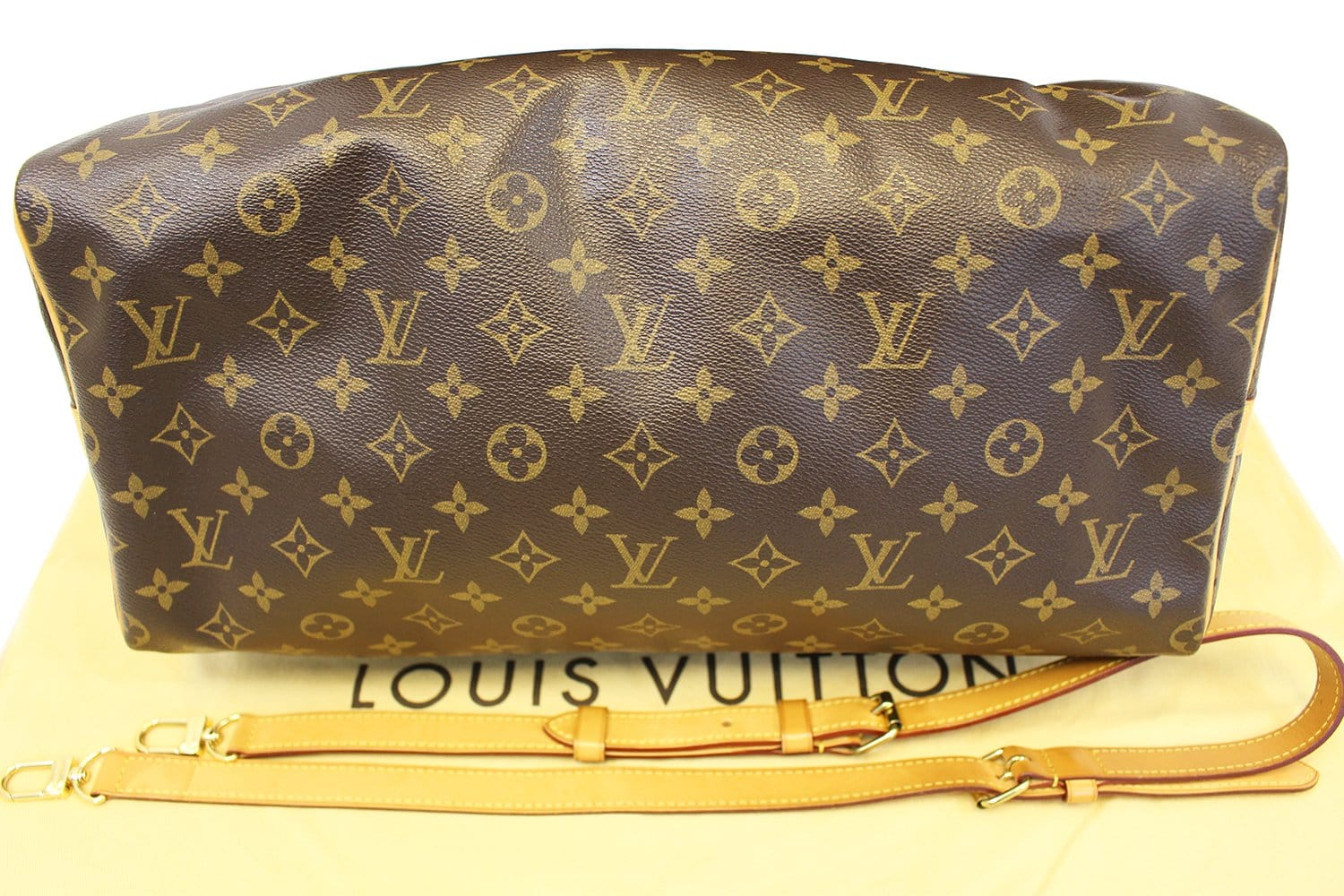 9ee490bdb240 LOUIS VUITTON Boston Bag Pre Loved Monogram Speedy 40 Bandouliere ...