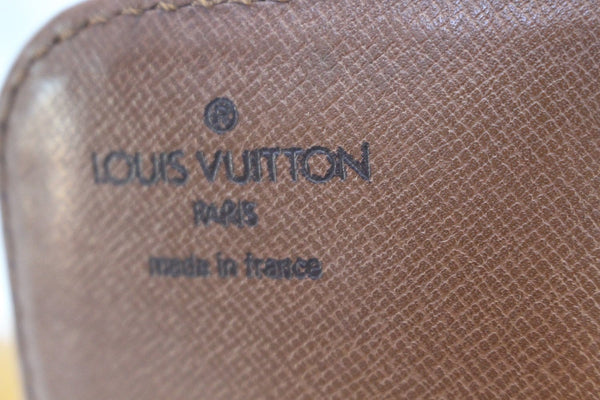 Authentic LOUIS VUITTON Monogram Canvas Cartouchiere GM Messenger Bag E3363