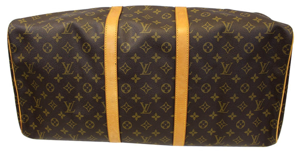 LOUIS VUITTON Monogram Canvas Keepall 55 Boston Bag