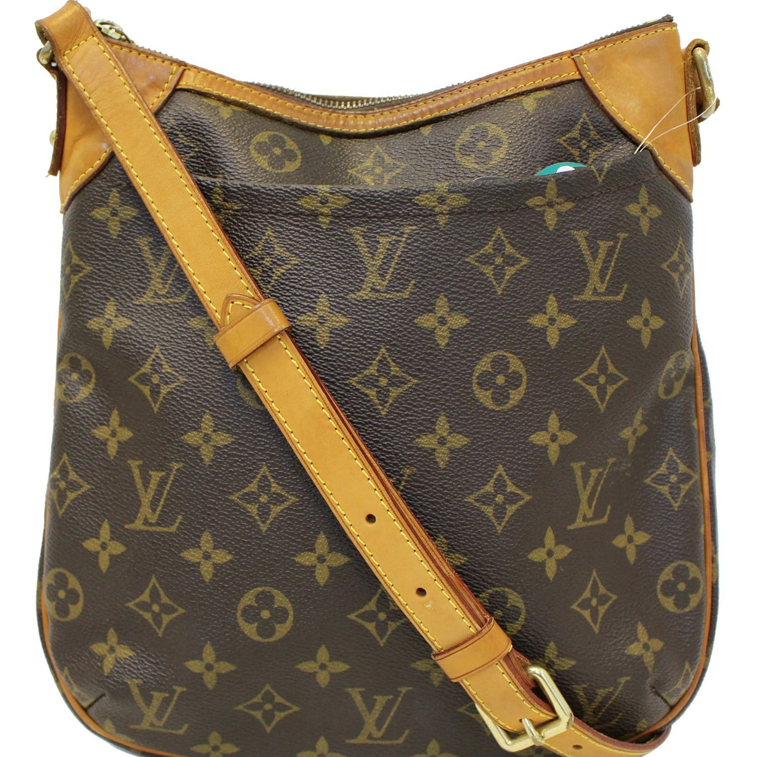 f358de4374f6 LOUIS VUITTON Odeon PM Monogram Canvas Shoulder Crossbody Bag